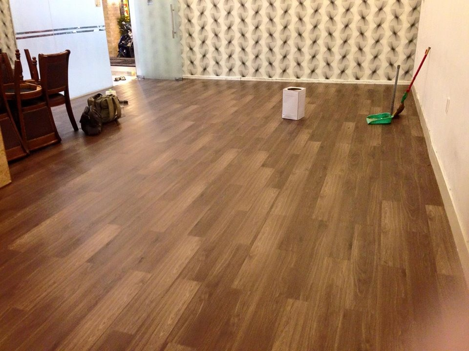Ưu điểm của sàn nhựa giả gỗ